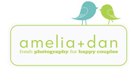 amelia + dan photography